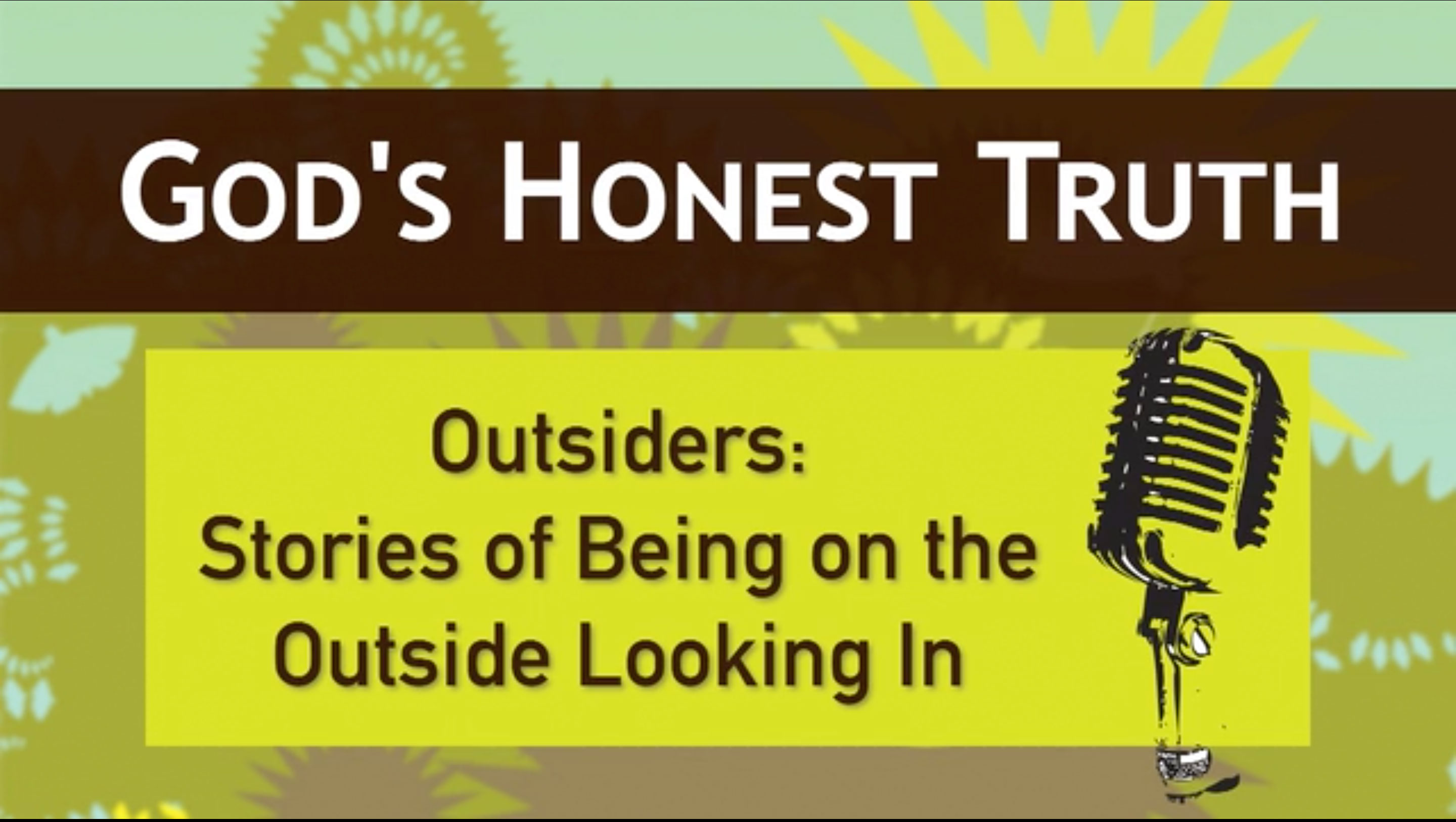 Outsiders: Stories About Being on the Outside Looking In